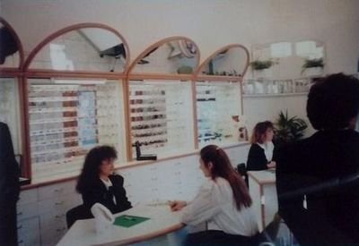 Optometrist shop