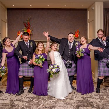 Hilton Double Tree, Aberdeen wedding